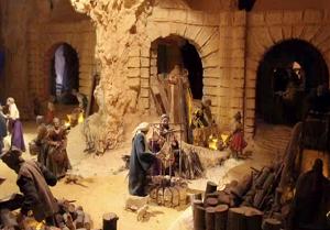 Presepe del Santuario della Madonna della Guardia