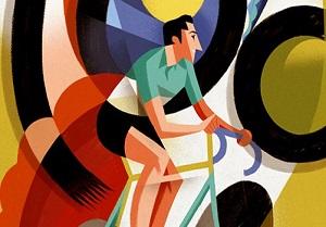 Fausto Coppi clip art