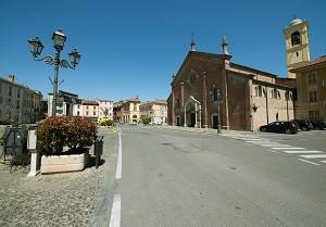 Castelnuovo Scrivia piazza