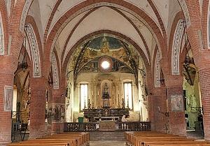 interno chiesa di Sale